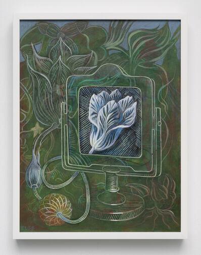 Ellen Lanyon, 'Blue Tulip', 1998