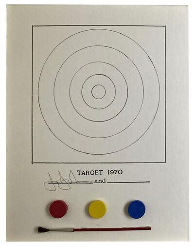 Jasper Johns, 'Technics And Creativity: Gemini G.E.L.- Target', 1971