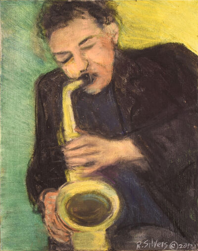 Regina Silvers, 'The Horn Player', 2018