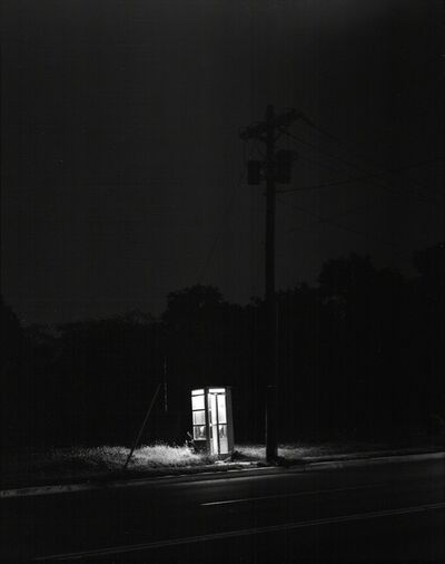 George Tice, 'Telephone Booth, 3am, Rahway, New Jersey', 1971