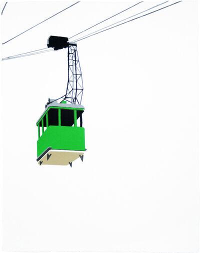 William Steiger, 'Aerial Tramway - Green', 2008