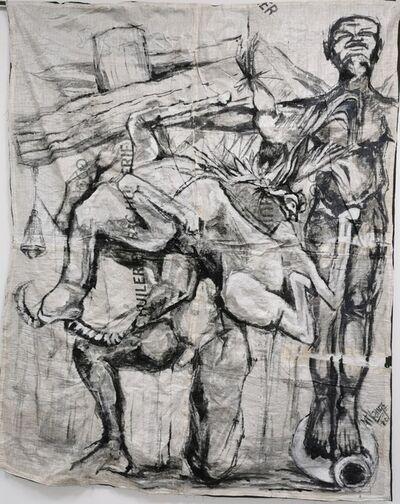 Ange-Arthur Koua, 'Lalafouê sran kouati'm 2 (Les héros des temps anciens)', 2020