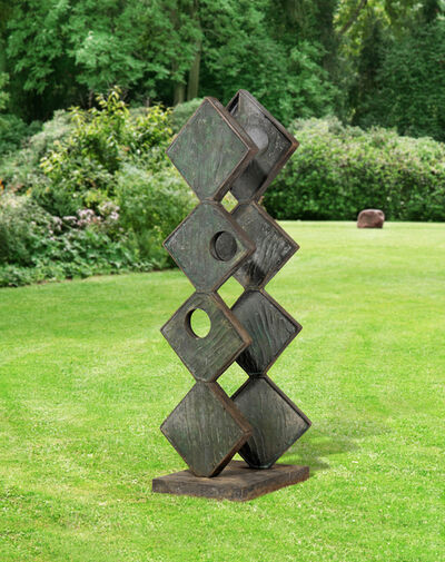 Barbara Hepworth, 'Square Forms (Two Sequences)', 1963