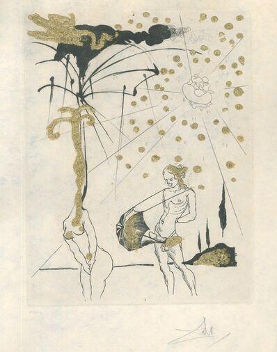 """Salvador Dalí, 'Le Poète Contumace - from """"Les Amours Jaunes""""', 1974"""