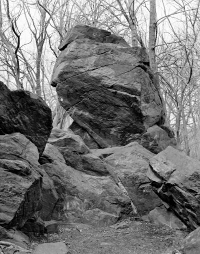 Mitch Epstein, 'Indian Prayer Rock, Pelham Bay Park, Bronx from the series Rocks and Clouds ', 2014