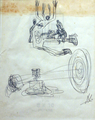 Frederick John Kiesler, 'Untitled', ca. 1962