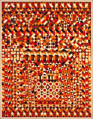 Joaquim Tenreiro, 'Mosaico em Laranja', ca. 1970
