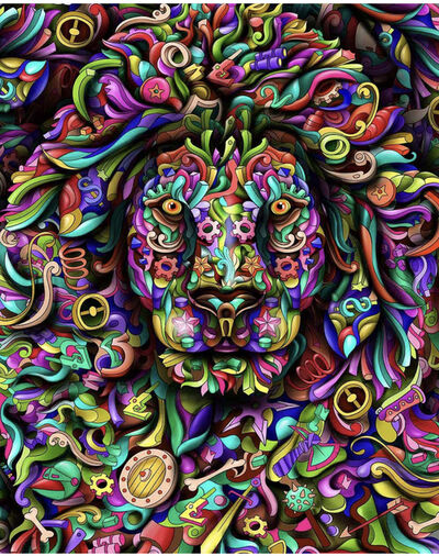 OPHEAR, 'Infusion Lion', ca. 2019