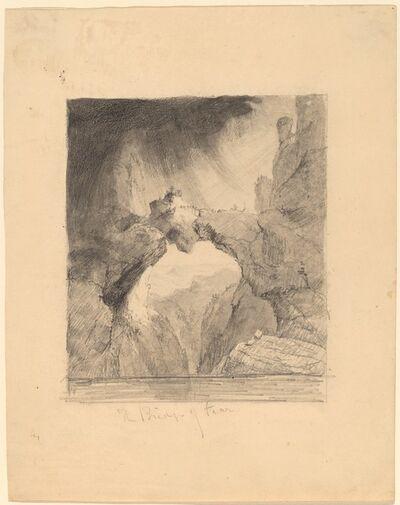 Thomas Cole, 'The Bridge of Fear'