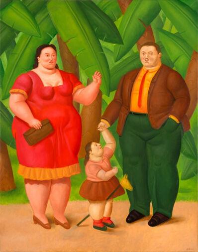 Fernando Botero, 'A Family', 2016