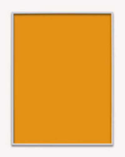 Phil Chang, 'Untitled (Orange Monochrome 04)', 2014