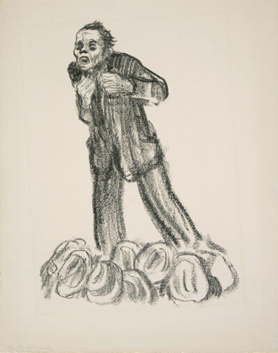 Käthe Kollwitz, 'The Agitator', 1926