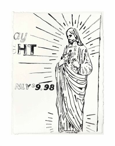 Andy Warhol, 'Untitled (Christ $9.98)'