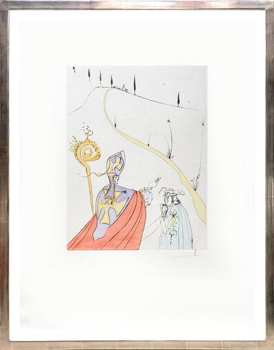 Salvador Dalí, 'L'amour sacré de Gala. (The Sacred Love of Gala).', 1974