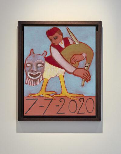 Francesco Clemente, '7/7/2020', 2020