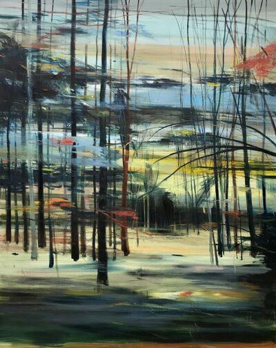 Calum McClure, 'Moon Through The Trees', 2019
