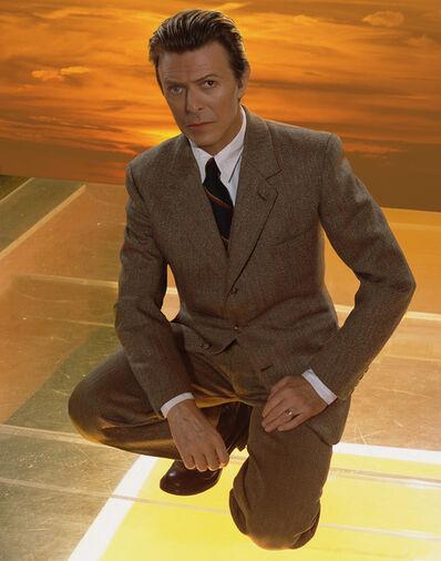 Markus Klinko, 'Bowie Sunset', 2002