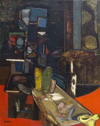 Jankel Adler, 'Interior', 1944-1945
