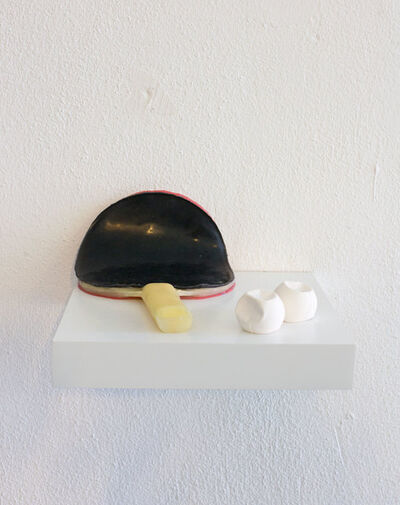 Marc Badia Quintana, 'I think a lot about pingpong, but when i start to play it all goes to shit.', 2017