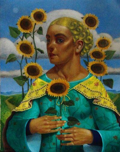 Armando Valero, 'Lady of the Yellow Suns', 2020
