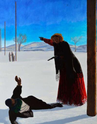 Kimathi Donkor, 'Harriet Tubman en route to Canada', 2012