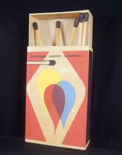 Raymond Hains, 'Saffa (Omaggio a Mondrian e De Chirico)', 1970