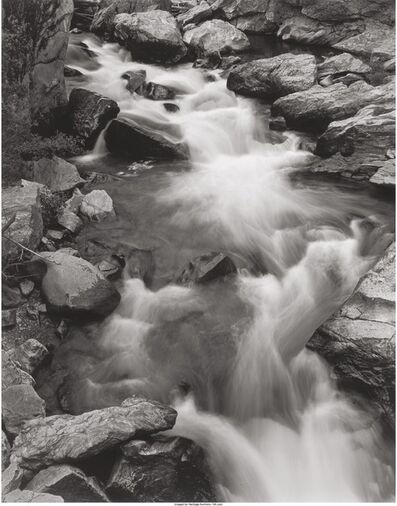 George Tice, 'Roaring Fork River, Colorado', 1969