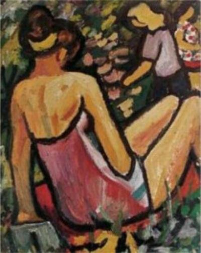 Miklós Németh, 'Summer Sunbathing', 1964