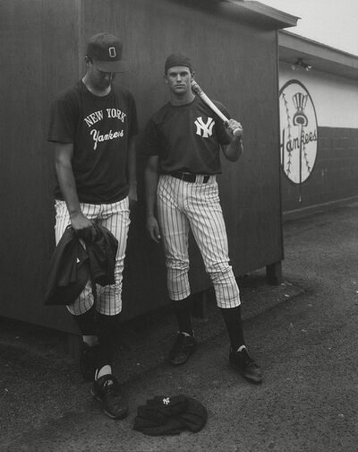 Andrea Modica, 'Andy Croghan and Tom Wilson, Oneonta Yankees, 1991', 1991