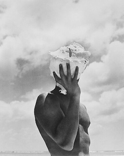 Herb Ritts, 'Man Holding Shell, Australia', 1986