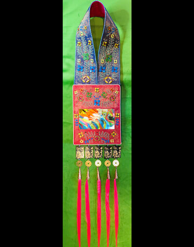 Barry Ace, 'Bandolier for Niimi'idiwin (Powwow)', 2019