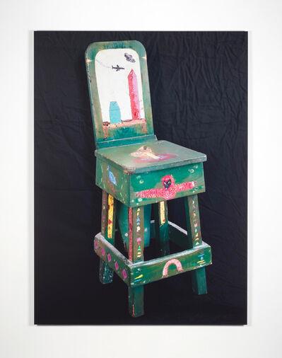 Michael Byron, 'Camp Follower's Chair 1978 (detail)', 2018