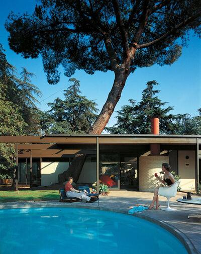 Julius Shulman, 'C. Buff / C. Straub / D. Hensman, Case Study House #20, Altadena, California'