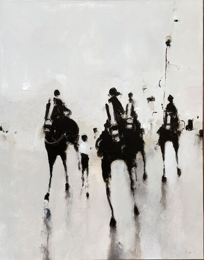 Geoffrey Johnson, 'Corner Horses', 2019