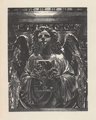 Anne Desmet, 'Angel and Book', 2020