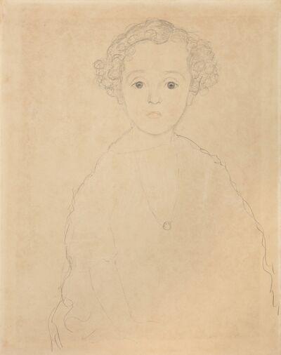 Gustav Klimt, 'Portrait of a Boy from the Front', 1917