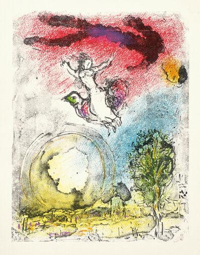 Marc Chagall, 'La Poésie (Poetry) (M. 898, C. 100)', 1976