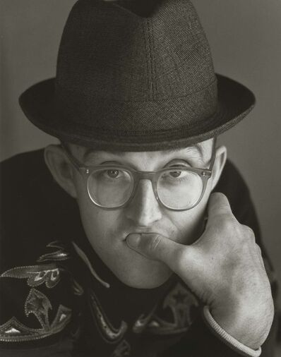 Herb Ritts, 'Keith Haring 1, New York', 1987