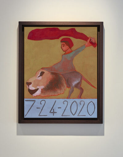 Francesco Clemente, '7/24/2020', 2020
