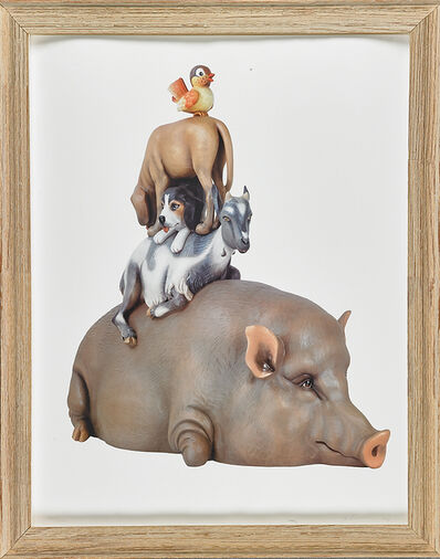 Jeff Koons, 'Stacked', 2003