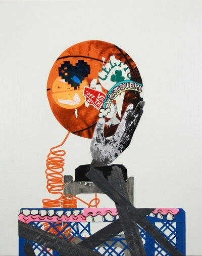 Erik Benson, 'Still Life (basketball telephone)', 2017