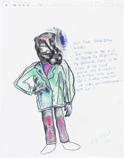 Bjarne Melgaard, 'Untitled (Fashion Drawing)', 2014