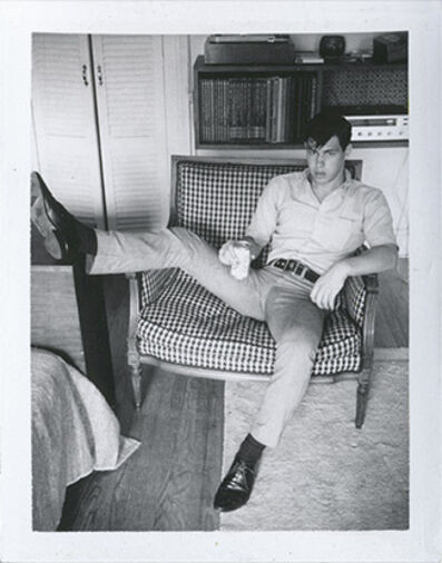 Jim French, 'Untitled (Man in Chair) P00109'