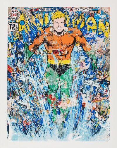 Mr. Brainwash, 'Aquaman (First Edition)', 2018