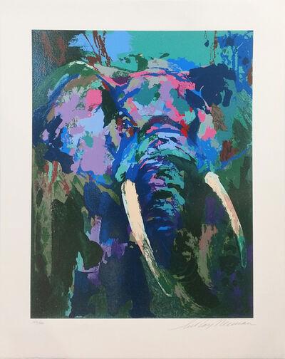 LeRoy Neiman, 'PORTRAIT OF AN ELEPHANT', 2003