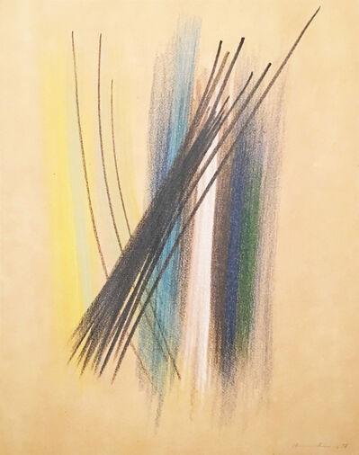 Hans Hartung, 'Composition', 1958