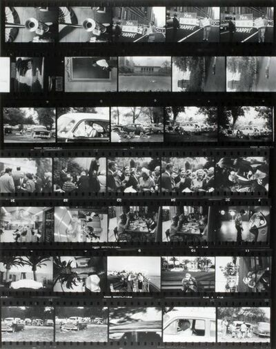 Robert Frank, 'Contact Sheets of the Americans (complete set of 12)', 1972