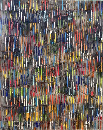 Petra Rös-Nickel, 'Color Rain 20-12', 2020