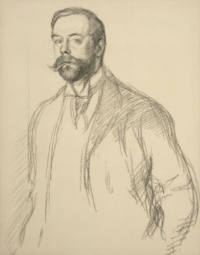 William Rothenstein, 'John Singer Sargent', 1897