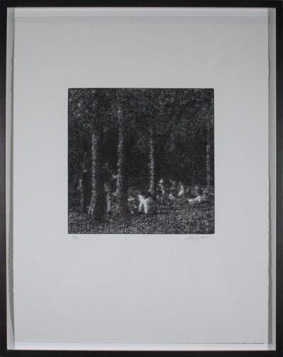 Wayne Gonzales, 'Forest', 2014